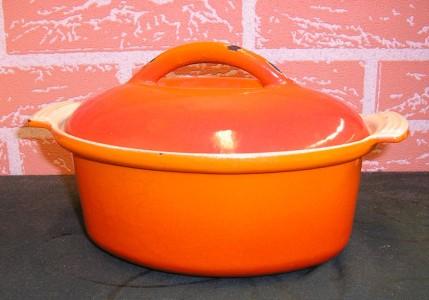 ceramic enamel cooking pot