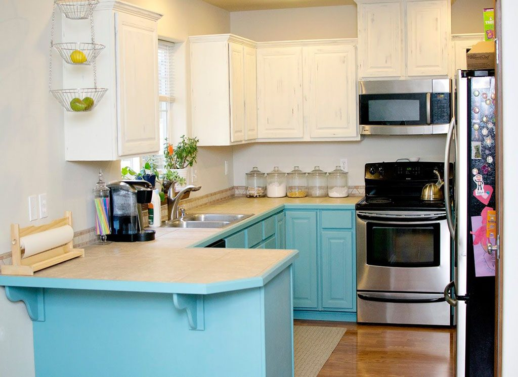 How To Cut Cost On Kitchen Liances Refinishing