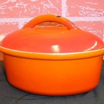 ceramic enamel cooking pot
